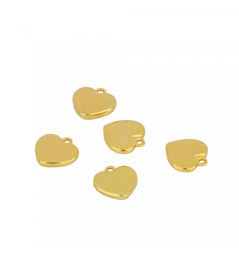 CORAZÓN CHARM GOLD