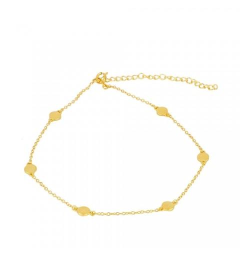 DAISY ANKLE BRACE GOLD