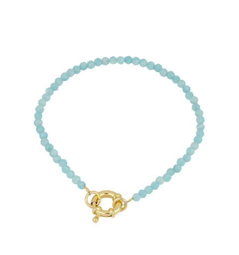 Bracelet made of 925 sterling silver gold-plated