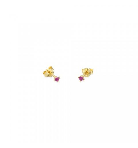 TINY PINK MINIS GOLD