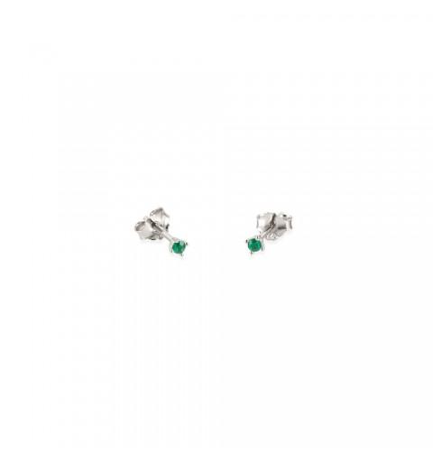 Sterling silver mini earring.