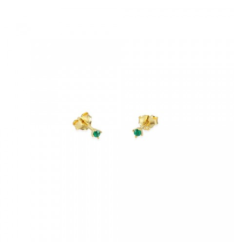 Gold-plated sterling silver mini earring.