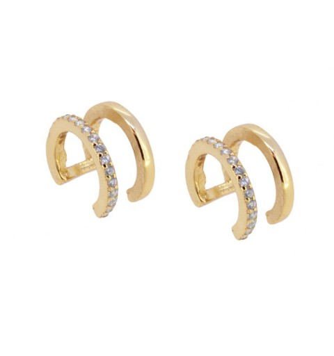 ALESSANDRA EAR CUFF GOLD