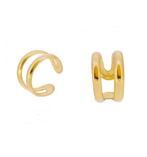 PE335 - Pendientes plata 925 y plata 925 bañada en oro