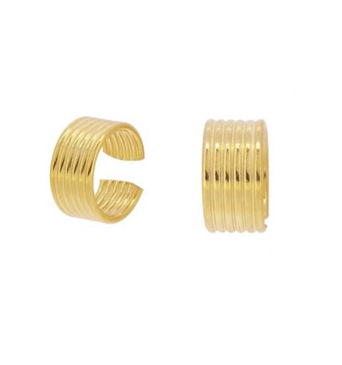 PE337 - Pendientes plata 925 y plata 925 bañada en oro