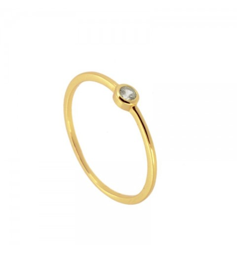SOLITARY RING GOLD
