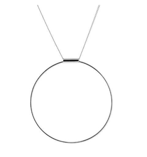 CO559 - Collar plata 925 y plata 925 bañada en oro
