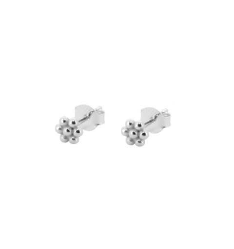 FLOWER MINIS SILVER