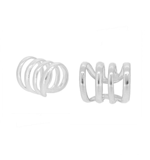 QUARTETT EAR CUFF SILVER