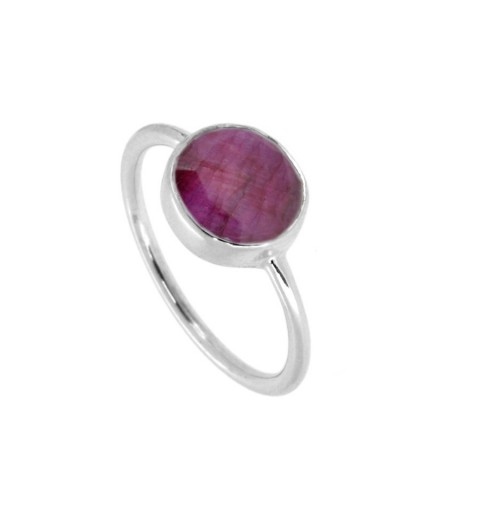 ROSSO RING SILVER