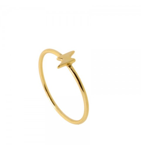 THUNDERBOLT RING GOLD
