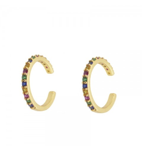 RAINBOW EAR CUFF GOLD