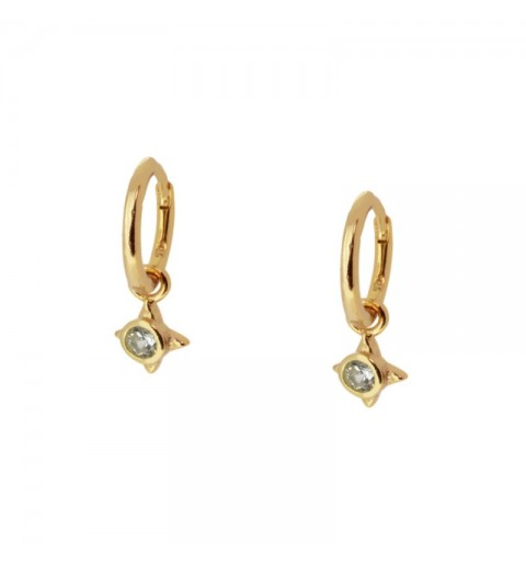 MESSALINA HOOPS GOLD