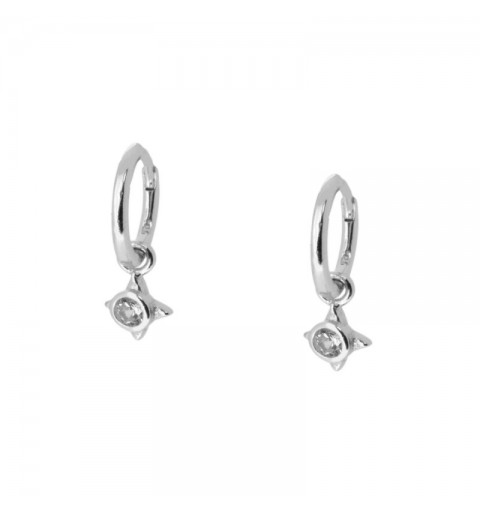 MESSALINA HOOPS SILVER