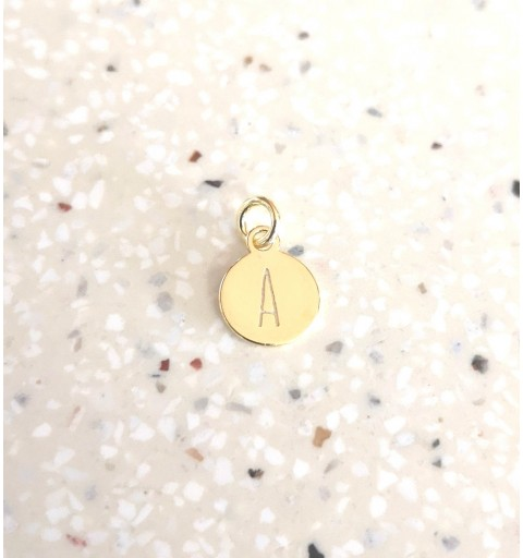 INITIALS CHARM GOLD