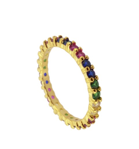 RAINBOW RING GOLD