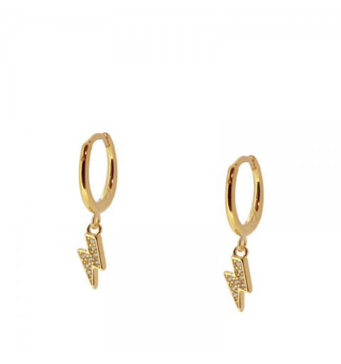 TWISTER HOOPS GOLD
