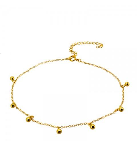 GALA ANKLE BRACE GOLD