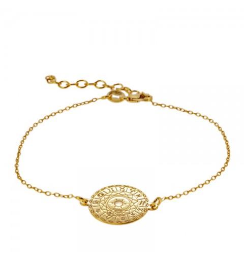 NOSTRADAMUS BRACELET GOLD