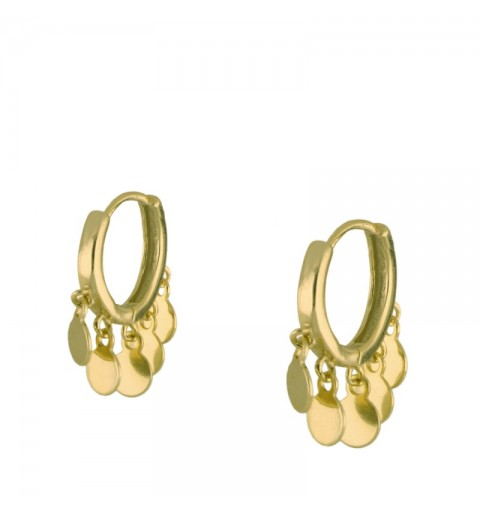 ELEONOR HOOPS GOLD