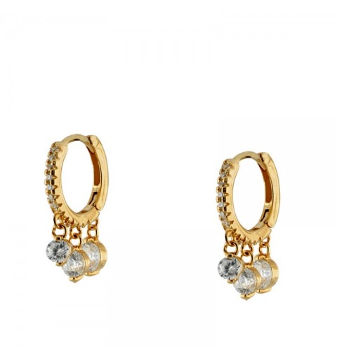 EDELYS HOOPS GOLD