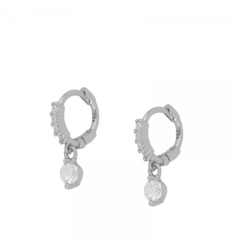 MADISON HOOPS SILVER