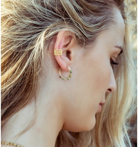 NÍCEA EARRING HOOPS GOLD