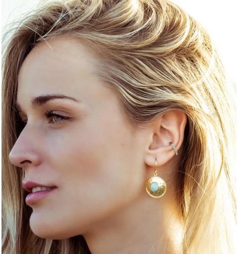 EAR CUFF OCEAN GOLD