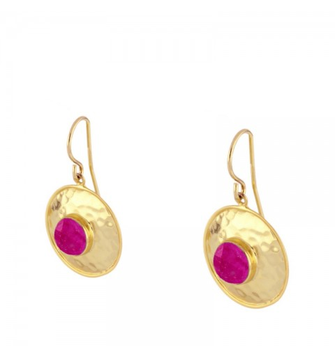 EARTH EARRING GOLD
