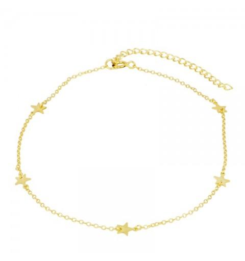YULIA ANKLE BRACE GOLD