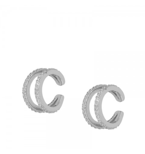 CATHERINE EAR CUFF SILVER