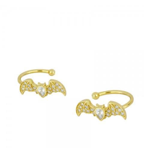 BATWOMEN EAR CUFF GOLD