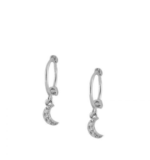 MIMUS HOOPS SILVER