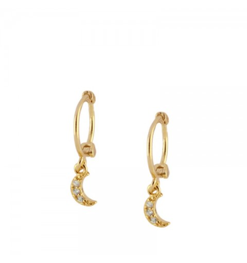 MIMUS HOOPS GOLD