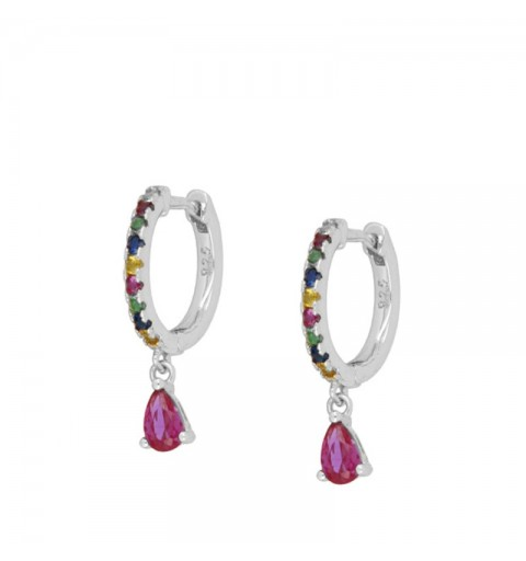 DIDA HOOPS SILVER