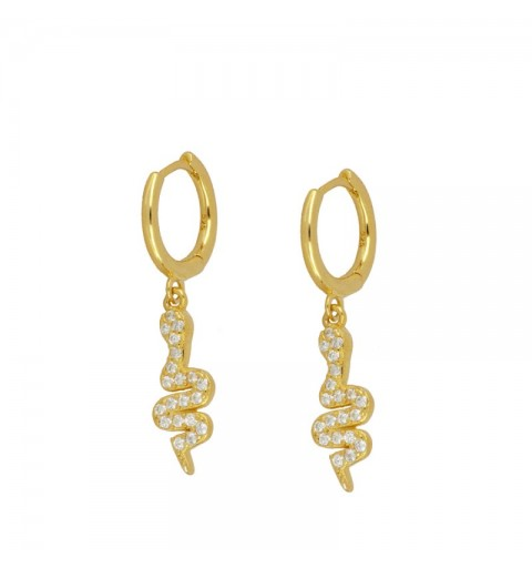 CASCABEL HOOPS GOLD