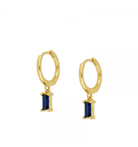 ZENITH BLUE HOOPS GOLD