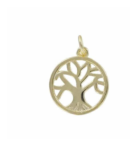 TREE OF LIFE CHARM GOLD