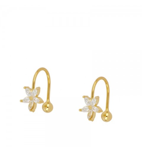 CLAVEL EAR CUFF GOLD