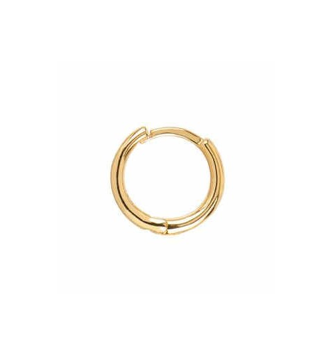 SIMPLE HOOPS GOLD