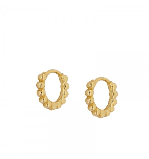 ANTONELLA HOOPS GOLD