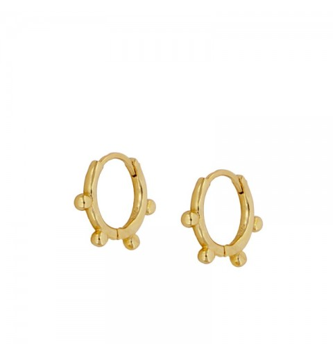 MARISA HOOPS GOLD