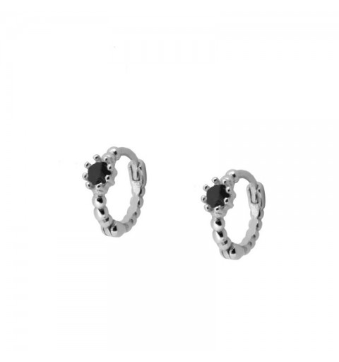 MINA HOOPS SILVER