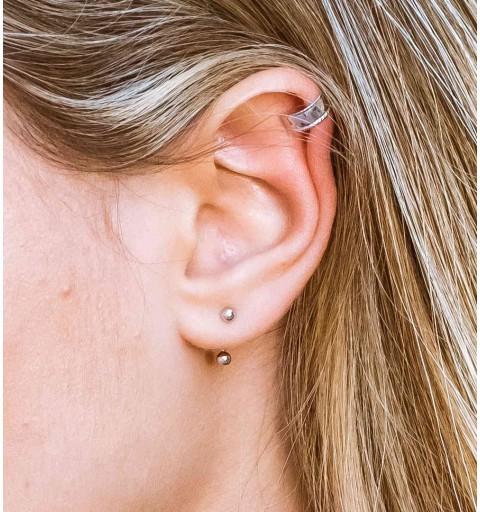 CELTA EAR CUFF SILVER