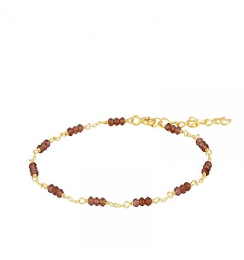 MYRCELA GREY BRACELET GOLD