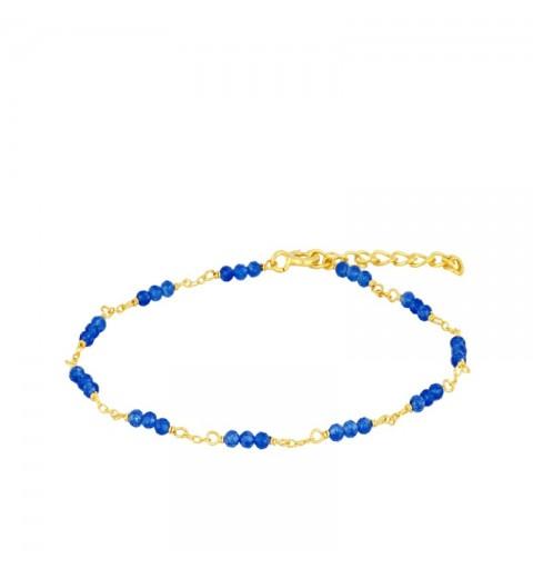 MYRCELA JADE BRACELET GOLD