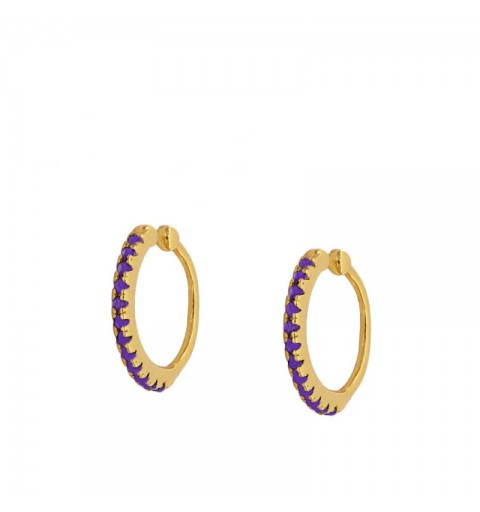 VENUS LILAC EAR CUFF GOLD