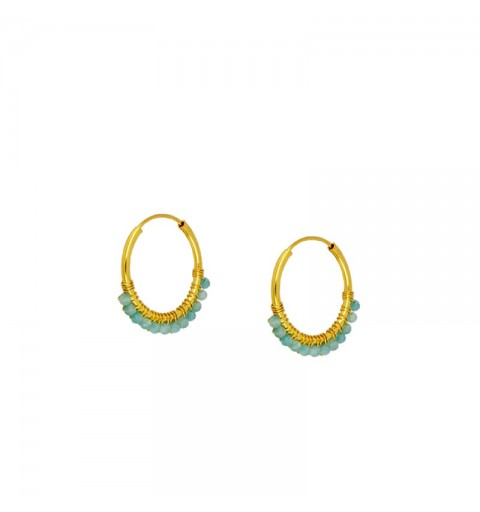 NÍOBE EARRING HOOPS GOLD