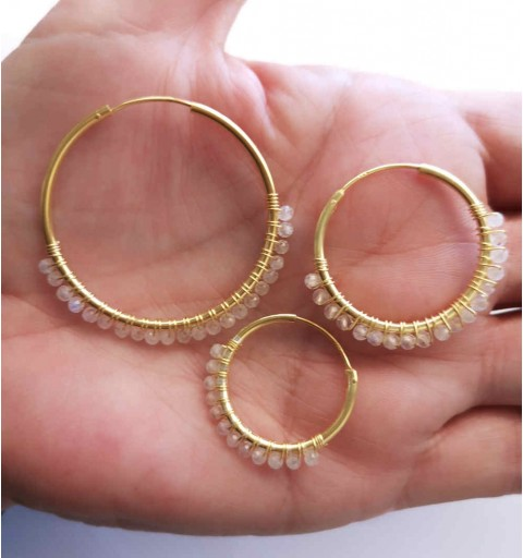 BINI EARRING HOOPS GOLD