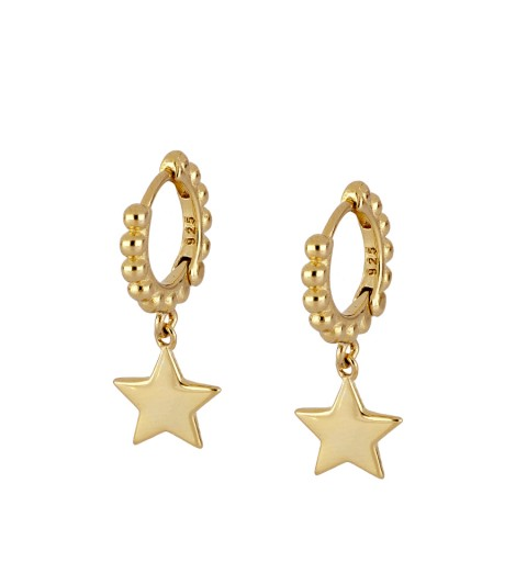 ALHENA HOOPS GOLD